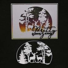 Christmas Metal Cutting Die Craft Scrapbooking Decor Embossing Stencil Card Making tree deer frame clear stamps fustelle dies