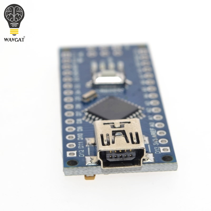 Image 4 - 10PCS Promotion Funduino Nano 3.0 Atmega328 Controller Compatible Board for WAVGAT Module PCB Development Board without USB-in Integrated Circuits from Electronic Components & Supplies