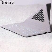 Desxz 7,9 в чехол для ipad 1 ipad mini 1 2 3 4 Беспроводная Bluetooth клавиатура складные чехлы Защитный Чехол Ультра Тонкий Планшет IOS