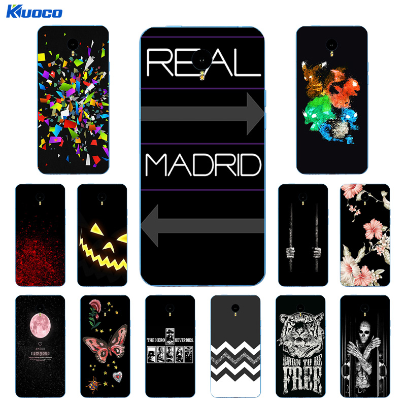 Case for Meizu M1 Note Case 5.5 Character Printing Silicon Back Cover Soft TPU for Meizu M1 NOTE Meilan Note 1 Phone Cases