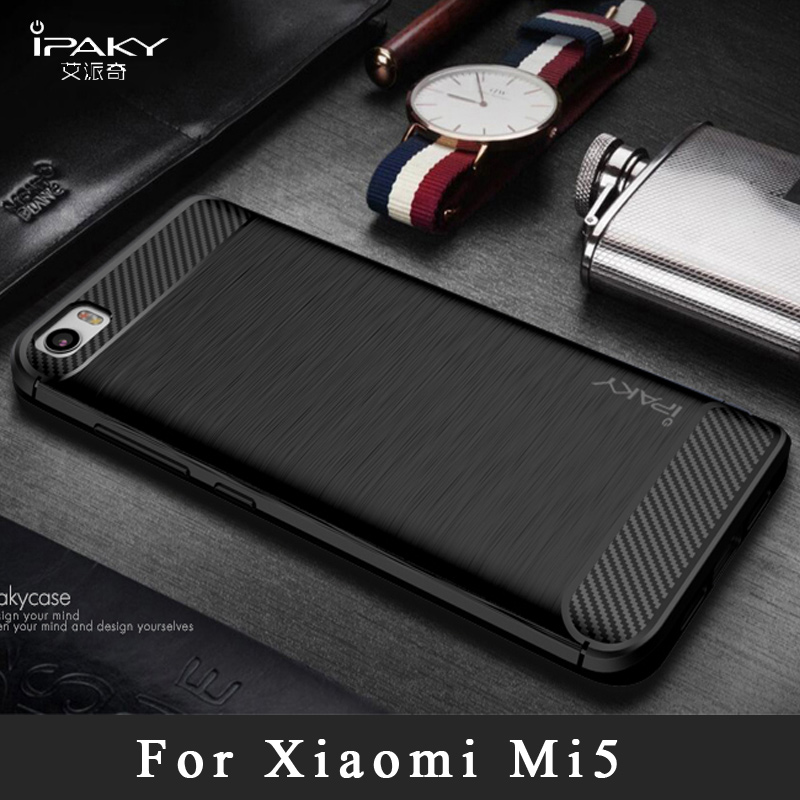 classic fit 03cea 42162 US $4.58 22% OFF|xiaomi mi 5 case ipaky Brand xaomi mi5 silicone Back Cover  xiaomi mi5 pro Slim Brushed TPU case For xiaomi mi5 m5 cases 5.15