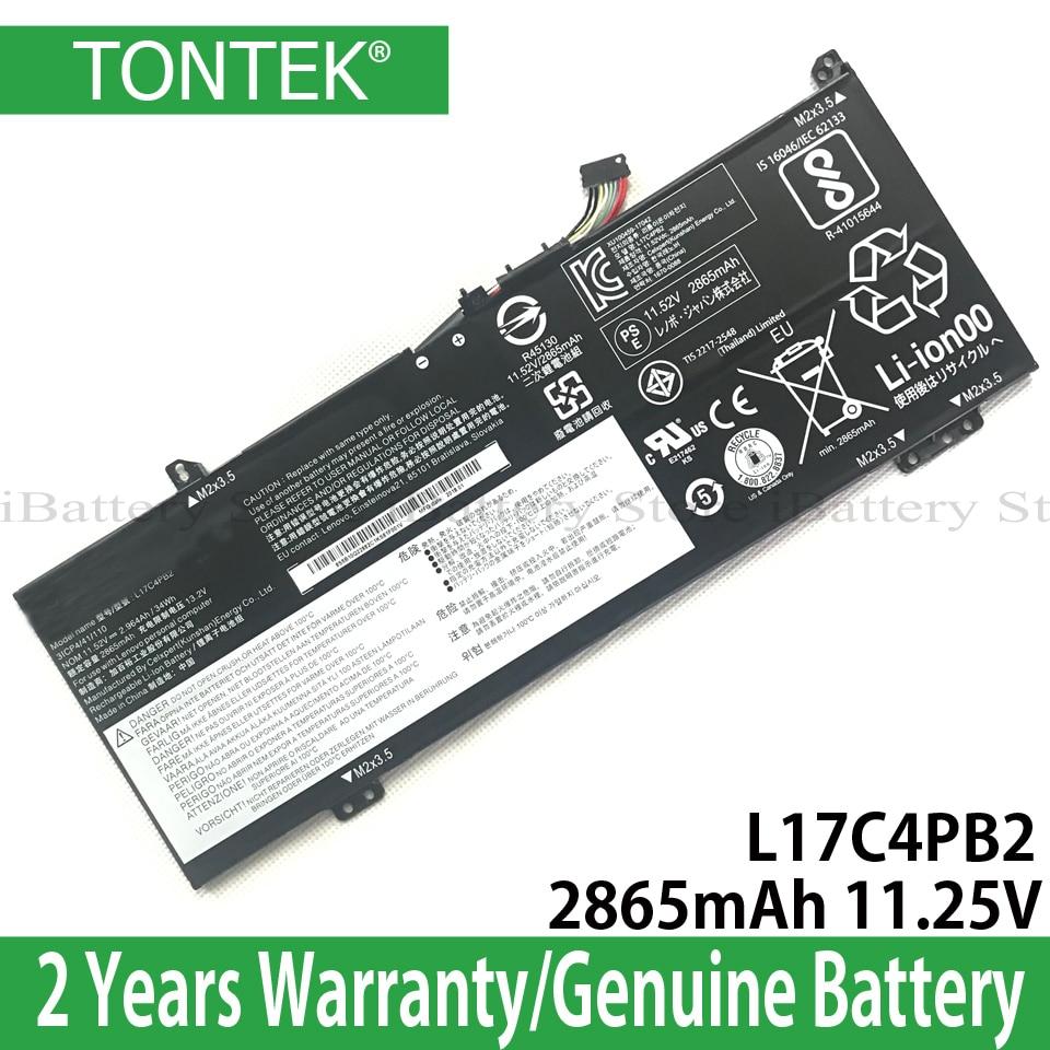 Genuine L17C4PB2 Battery For Lenovo IdeaPad Flex 6-14 530S-14IKB 530s-15IKB Series L17C4PB0 L17M4PB2