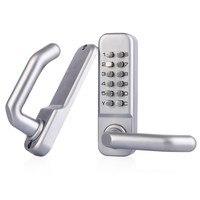 Waterproof Lever Handle Mechanical Combination Lockey Digital Numberal Deadbolt Door Coded Lock