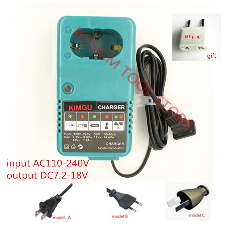 110-220V Charger Replace For <font><b>MAKITA</b></font> 6010D 6261D 6226DWE 6270D 6270DWE 6271D 6271DWE 6280D 6280DWE <font><b>6281D</b></font> 6281DWE image