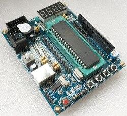 Бесплатная доставка 51 mcu минимальная системная плата usb 51 микроконтроллер макетная плата