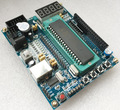 FREE SHIPPING 51 mcu minimum system board usb 51 microcontroller development board
