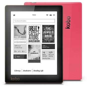 E-book Kobo Aura ebook N514 czytnik e-tusz 6 cal rozdzielczość 1024x758 wbudowany przednie światła e czytnik książek WiFi 4GB pamięci