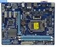 Оригинальная материнская плата для Gigabyte GA-H61M-S2-B3 H61 DDR3 LGA 1155 твердотельный конденсатор  бесплатная доставка телефонной платы