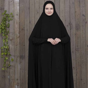 Prayer Clothing Black (Jilbab) 1