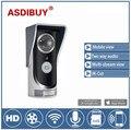 Wireless Video Door Phone Wifi remote Doorbell intercom Peehole Camera PIR IR Night Vision Video Doorphone Rainproof SmartPhone