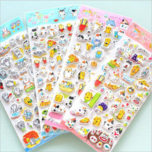 Japan Creative naughty cute Cat dog Stickers /scrapbook diary deco stickers/Decorative items/School stationery Supplies GT376