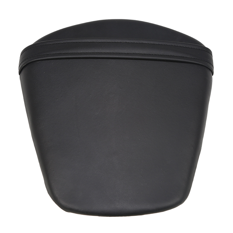 Black Retro Motorcycle Solo Seat Leather Seat Pillion Pad Seat Cover For Suzuki GSXR 600 750 K11 2011 2012