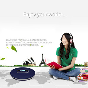 Image 5 - HOTT Portable CD Player With LCD Headphone Jack Anti Slip Shockproof Protection Compact CD Music Disc Walkman Player
