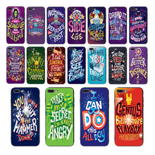 MARVEL Superheroes Lettering Series design Soft black silicone Phone Cases For iphone X XS XR XSMAX 7 8 6 6S plus 5 5S TPU shell