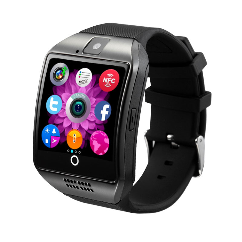 Bluetooth Smart Watch Support SIM Tf Card Children's Facebook Call Whatsapp Twitter Smartwatch with Camera For IOS Android