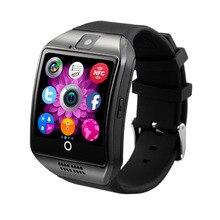 Купить Bluetooth Smart часы Поддержка sim-карта TF детская Facebook вызова WhatsApp Twitter SmartWatch С Камера для IOS Android