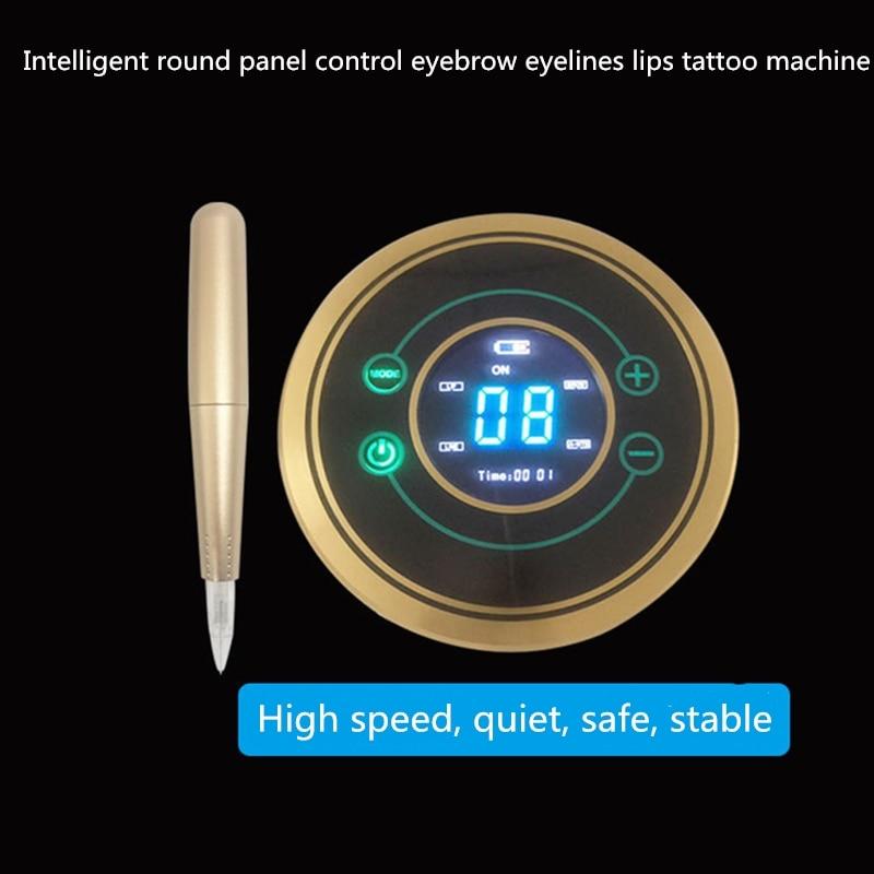 Free Shipping A High-Quality Tattoo Eyebrow Eyelines Lips Multi-Function Circular Panel Control Tattoo MachineFree Shipping A High-Quality Tattoo Eyebrow Eyelines Lips Multi-Function Circular Panel Control Tattoo Machine
