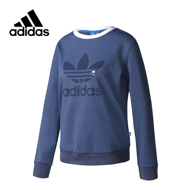 New Arrival 2017 Official Adidas Originals CREW SWEATER Women's Pullover Jerseys Sportswear цена