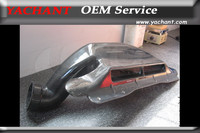 Car Styling Carbon Fiber Air Intake Box Fit For 2010 2012 Rohens Genesis Coupe Front Air Intake