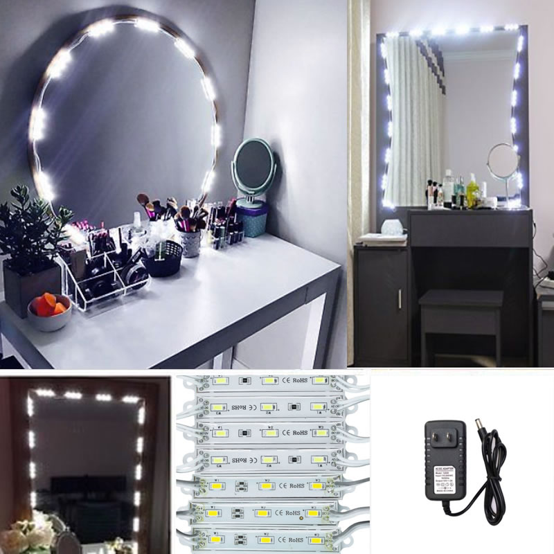 Mirror Led Light For Cosmetic Makeup Vanity Mirror Lighted