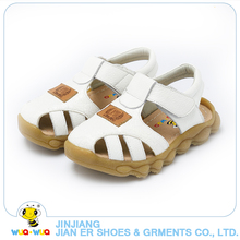Summer Shoes Boys Soft Leather Sandals Baby Boys Summer Prewalker Soft Sole Genuine Leather Beach Sandals