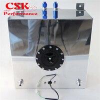 Alloy Racing Car Fuel Cell Tank 10 Gallon w/ Sender Racing Cap FOAM 40L