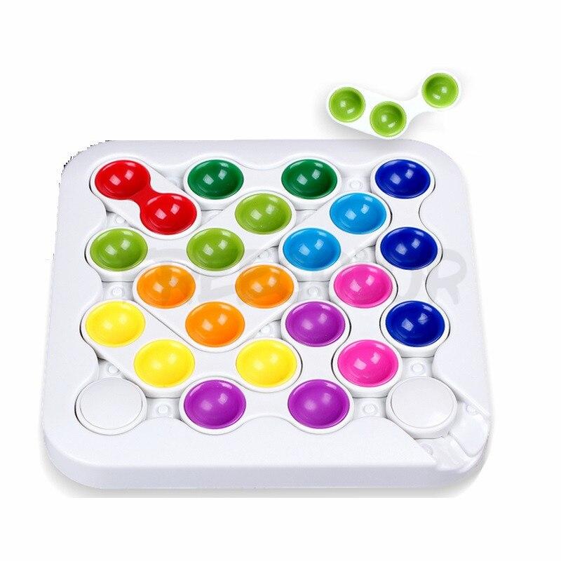 IQ Puzzle famille intelligente jeux de société jeu de pensée logique 60 défi avec Solution Jouet Enfant Intelligent jouets cadeau pour les enfants