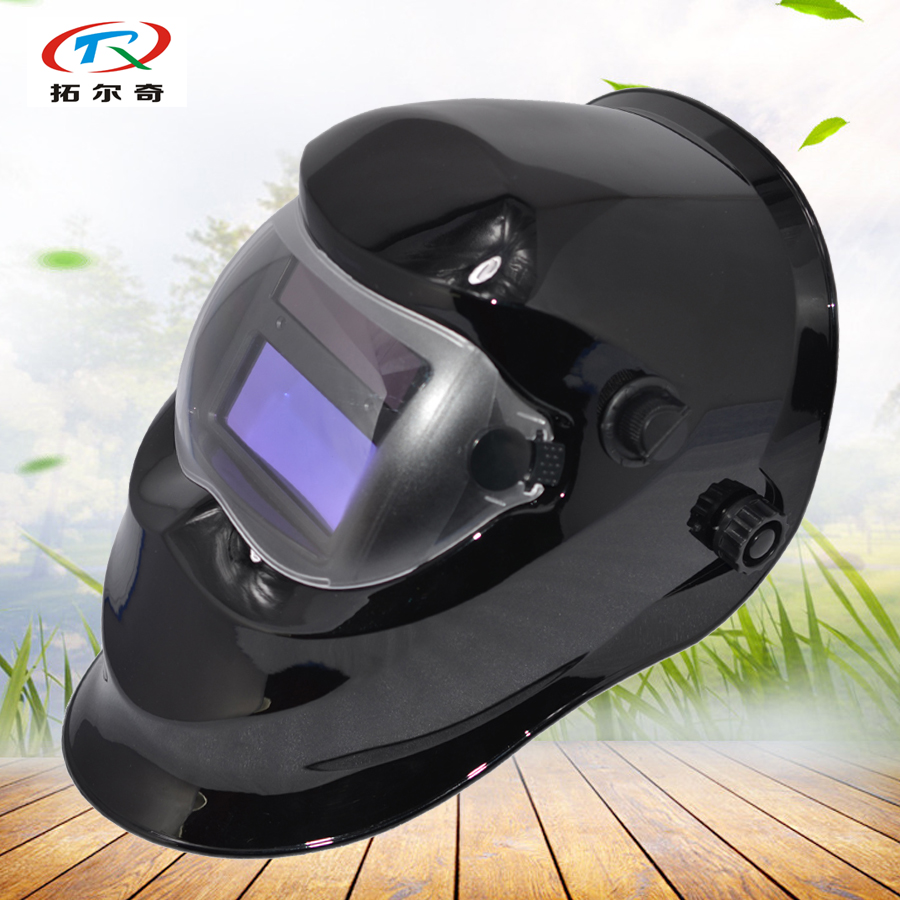Tools Welding Helmets The Best Fast Delivery Long Life Time New Arrival Monster Printing Automatic Darkening Welding Helmet Trq-kp01 With 2233de