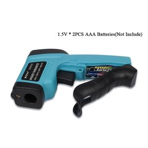 Image 3 - דיגיטלי מדחום אינפרא אדום 50 ~ 550 C Pyrometer אקווריום לייזר מדחום אקדח חיצוני מדחום LED אחורי אור