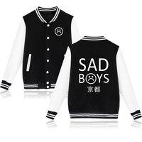 2017 Yung Lean Unknow Death Sad Boys Jacket Hoodies Men Women Streetwear Sad Boys Brand Casual