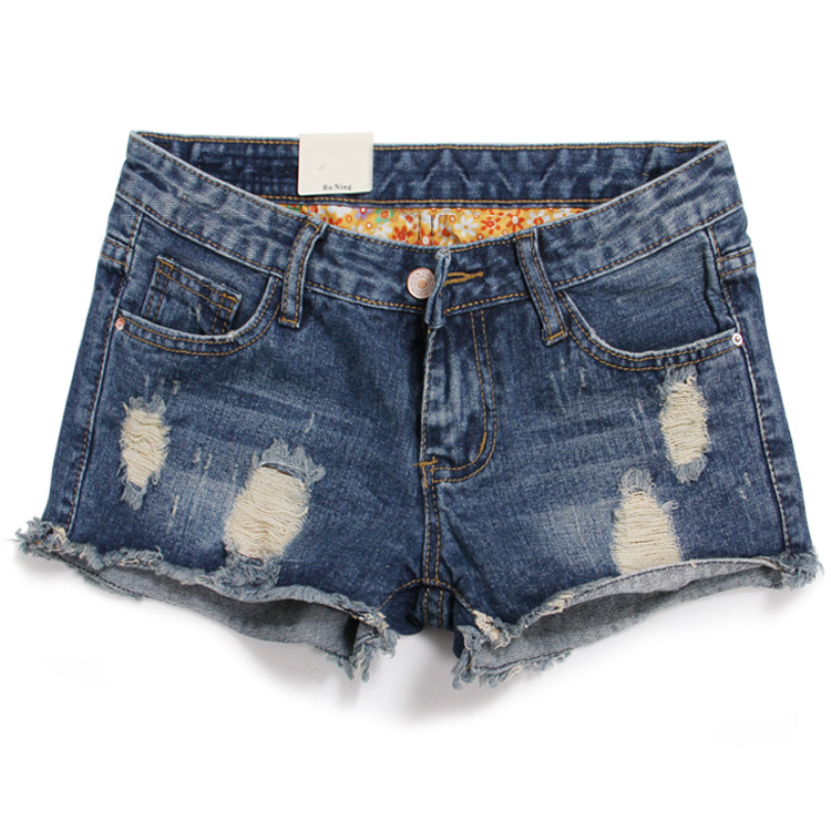 Compare Prices on Denim Destroyed Shorts- Online Shopping/Buy Low ...