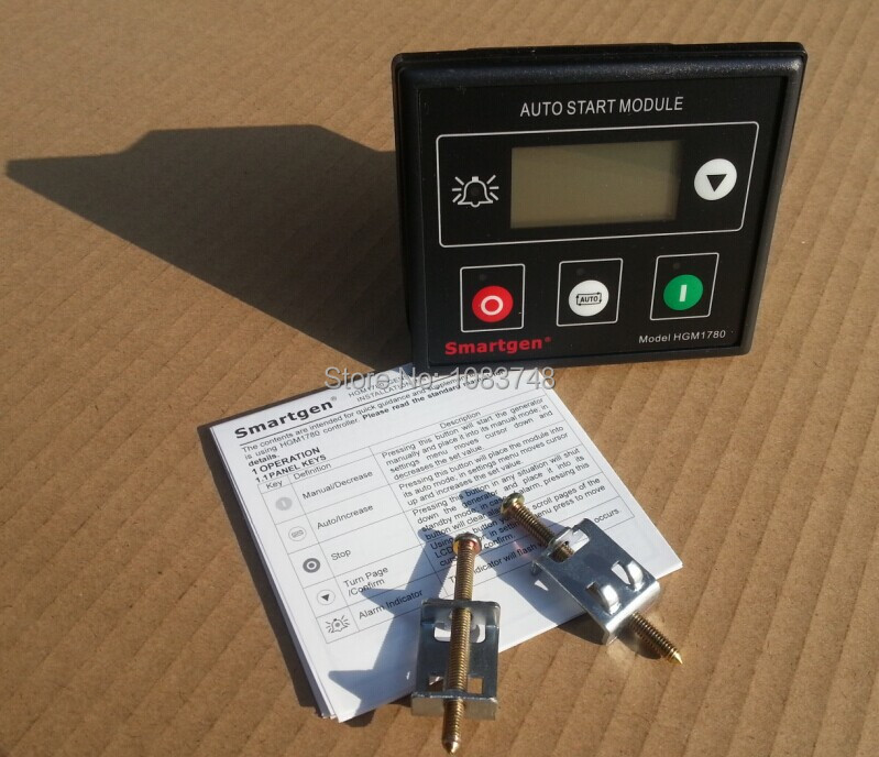 Auto Start Control Module HGM1780 +Free shipping free shipping original amf25 com ap generator controller auto start control module