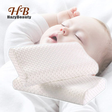 Memory Foam Baby Pillow Orthopedic Neck Protector Sleeping Memory Foam White Pillows Super Soft Bed Pillow for Children 40x25cm