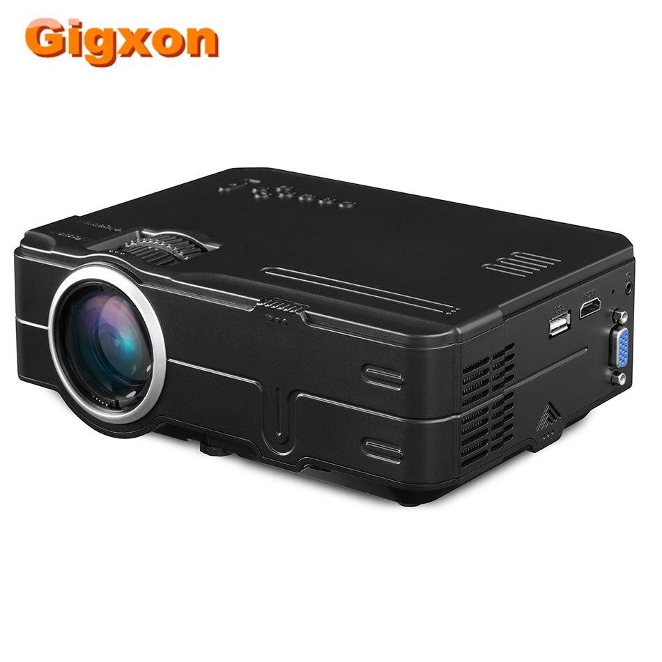 GIGXON G812 projecteur LED Wifi Mini projecteur 1080 P 800*480 résolution Home cinéma jeu film projecteur Proyector HDMI USB