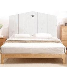 Дерево усиление 3D наклейка на голову кровати спальня фон виниловая художественная Фреска самоклеющиеся съемные водонепроницаемые прикроватные обои настенные наклейки