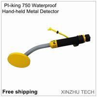 Free shipping PI iking 750 30m TIANXUN Metal Detector fully waterproof pulse induction pinpointer vibrator search