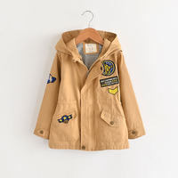 Boys Windbreaker Jacket With Hood Wholesale Lots Bulk Clothes Toddler Teenager Fall Outerwear Coat Fashion Designer Spring Wear
