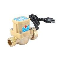 21mm 1 2 PT Male Thread 90W Pump Flow Sensor Liquid Switch For Water System
