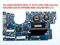 Para asus ux32vd placa madre del ordenador portátil con cpu 2 gb de memoria gt620m i7-3537u 1 gb 60-np0mb1n00 ux32vd rev: 2.4 100% probado nave rápida