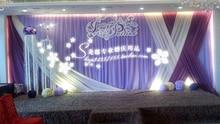 Party decoration hotsale 2015 Elegant Wedding Backdrop 3m*6m Wedding Supplies Curtain wedding Decorations X style