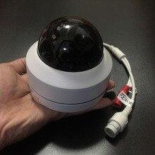 5.0MP Мини PTZ IP камера Супер HD 2592x1944 панорамирование/наклон 4X зум ИК купольная камера PoE 2MP 1080P IP камера s мини маленький для 48 В NVR