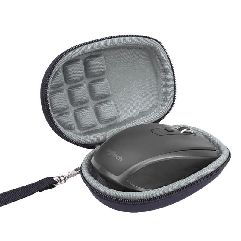 VODOOL Portable Carrying Case Protective Pouch Cover For Logitech MX Anywhere 2S Mouse Storage Bag Gaming Mouse Mice Accessories