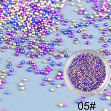 3d nail charms Nail Jewelry Crystal Sand Wizard beads DIY Micro Diamond Flash Drill nails accessoires(China)