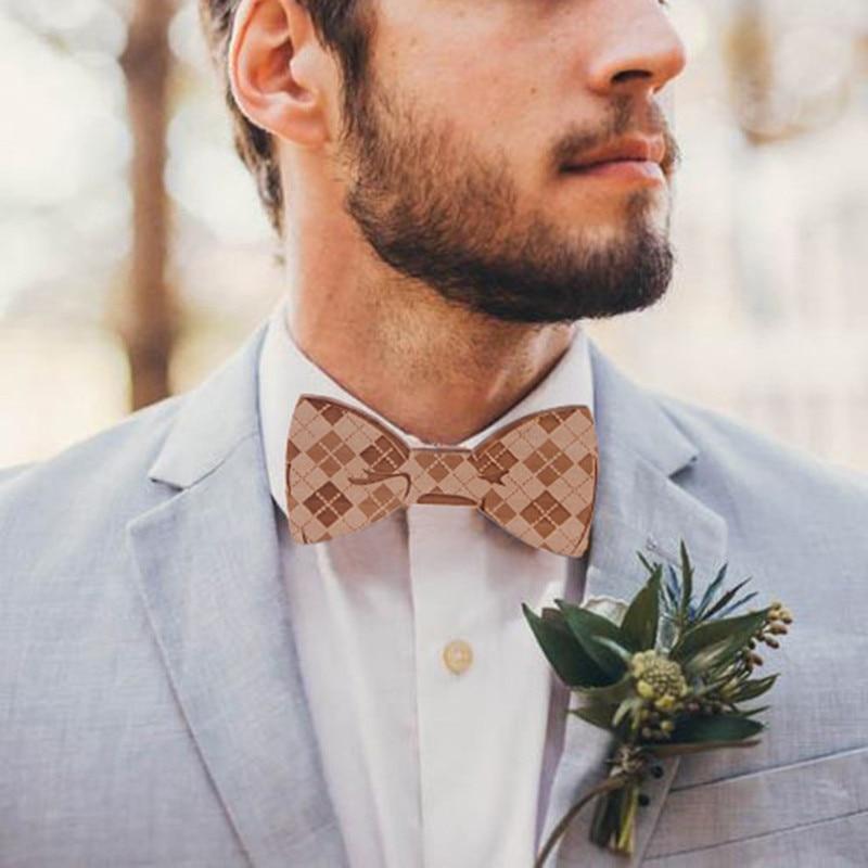 1pc Top Mens Fashion Solid Wooden Bow Tie Clips For Men Creative Bowtie Women Men High Qualtiy Collar Neck Accessories Fashion Tie Clip Tie Cliptie Clips For Men Aliexpress