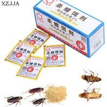 XZJJA 6 упаковок, эффективная наживка для тараканов, порошок, каккерлак, Отпугиватель насекомых, средство для ловли тараканов, против вредителей, отпугивающая ловушка для борьбы с вредителями