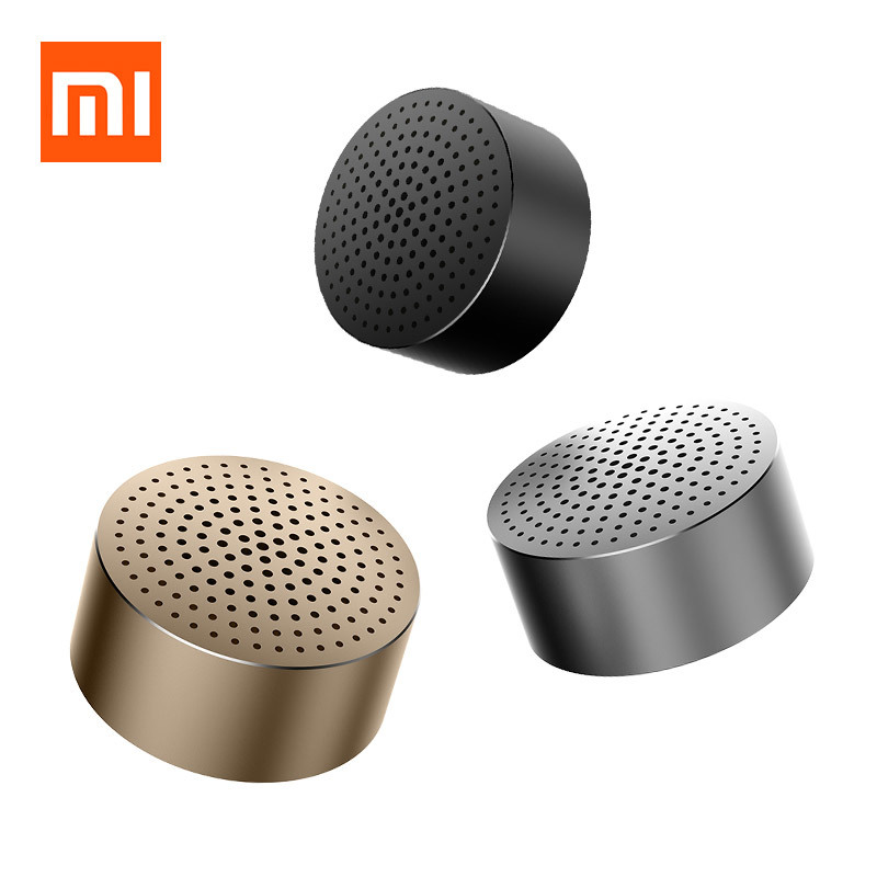 Original Xiaomi Bluetooth Speaker Portable mini Wireless Bluetooth Speaker Handsfree Music Square Box Lourspeaker for SmartPhone original xiaomi mi bluetooth speaker metal square box mini wireless stereo portable mp3 player handsfree bluetooth 4 0
