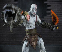 22cm NECA God of War 3 Ghost of Sparta Kratos PVC Action Figure Collectible Model Toy EFI5