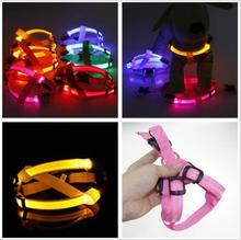 C03 Striped pet dog LED světelné svazky pet pás světelný postroj pro středně velké psy USB dobíjecí