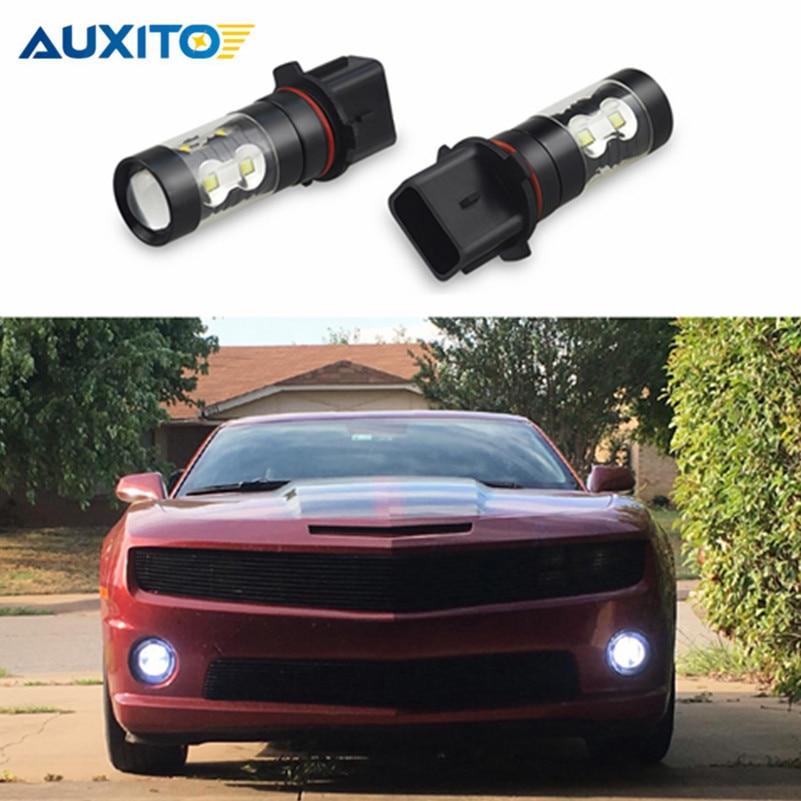 2 stks P13W PSX26W Auto LED Mistlamp DRL Dagrijverlichting 50 W Voor - Autolichten