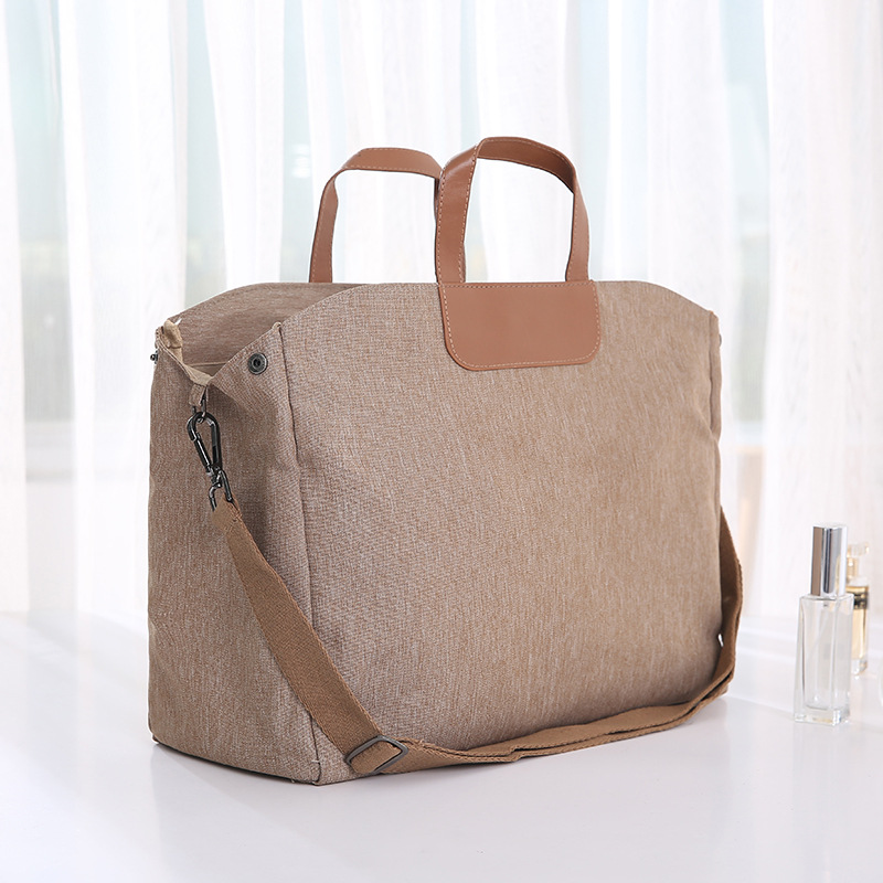 1043e1f25d Detail Feedback Questions about Fashion Women Travel Bags Handbags Business Laptop  Duffel Bag Shoulder Weekend Bags Portable Big Overnight Bag Foldable Tote  ...